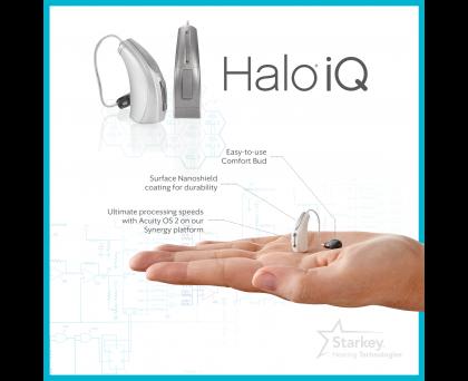 Starkey Halo iQ i1200 Hearing Aid