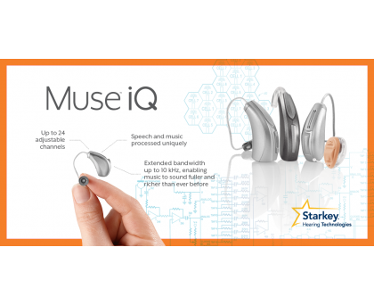 Starkey Muse iQ i1000 Hearing Aid