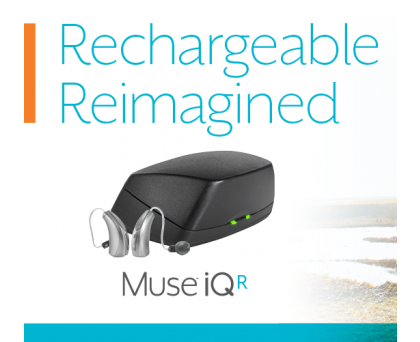 Starkey Muse iQ R i2000 Hearing Aid