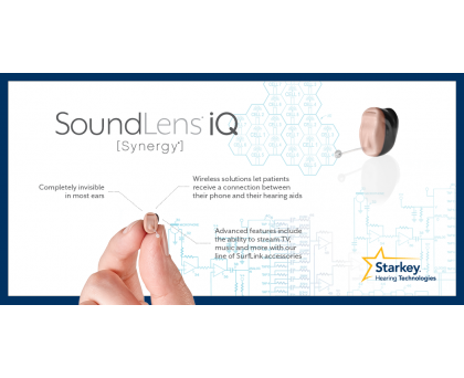 Starkey SoundLens iQ Synergy i2400/2400 Hearing Aid